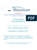 004 - Accesorios Para iPhone - Cargadores y Adaptadores - UT