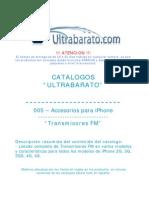 005 - Accesorios Para iPhone - Transmisores FM - UT