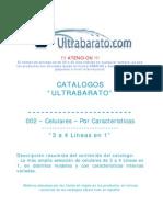 002 - Celulares Por Caracteristicas - 3 a 4 Lineas en 1 - UT