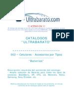 002 - Accessorios Por Tipos - Baterias - UT