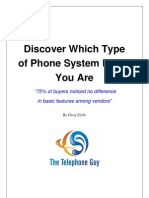 Discover the Type of Phone System Buyer You Are