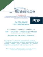 008 - Accesorios Por Marcas - Accesorios Para Sony Ericsson - UT