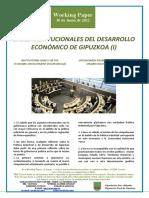 Bases Institucionales de Una Politica Industrial Para Gipuzkoa (i)