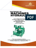 Hydraulic Machines Textbook
