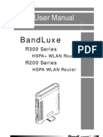 BandLuxe R250 User Manual 07072009