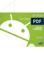 GT-I9300 Ice Cream Sandwich Guide Ver. 6.0