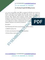 35. GSM Ad-Hoc Routing Prepaid EB Billing System