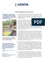 USAID-KHCP Snapshot - New Innovation Benefits Yellow Passion Fruit Farmers