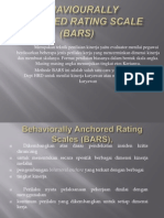 Behaviourally Anchored Rating Scale (BARS)