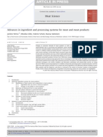 Advances in Ingredient and Processing Systems for Meat and Meat Products