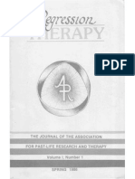 Journal of the Association of Past Life Research and Therapy
