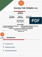 Vedic Multiplier design