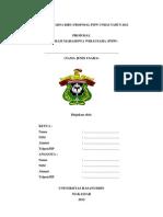 Format Proposal Program Mahasiswa Wirausaha (Pmw)