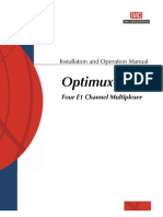 Manual Optimux 4E1