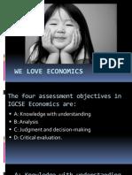 We Love Economics