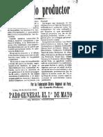 Peru Abril 1913