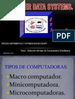 Primera Presentacion de RIO