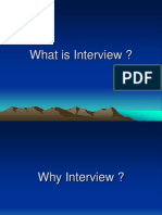 Interview Facing