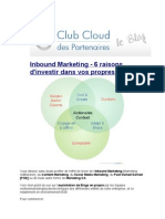 Owned Blogs and Social Media [Focus B2B] - Curation and PoV - Loic Simon - Club Cloud Des Partenaires