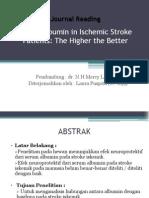 Serum Albumin in Ischemic Stroke