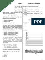 Plantão 16 -2012- Geometria Molecular