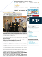 Indonesia a good investment destination for Malaysians – BorneoPost Online-EDDY SATRIYA