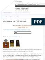 The Case Of The Confused Pilot » Maritime Accident Casebook
