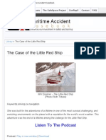 The Case of the Little Red Ship » Maritime Accident Casebook