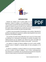 Recommandations Du FESP