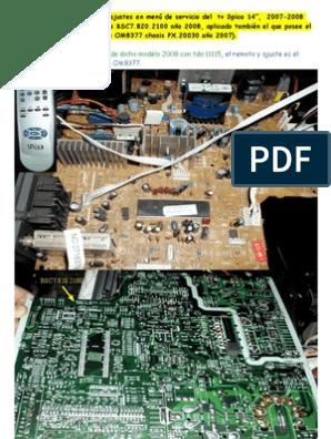 Como EMC RX730 serie 6.5 A 250 V AC 60 Hz montaje de chasis con ficha de FILTRO RFI