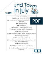 Around Town in July 2012 Update