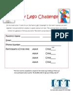 Family Lego Challenge