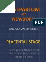 Postpartum and Newborn Final
