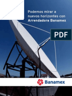 BANAMEX - Folleto Arrendamiento Financiero