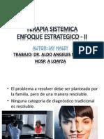 Terapia Sistemica- Enfoque Estrategico - II