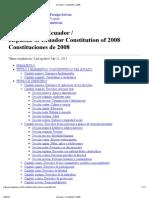 Ecuador_ Constitution, 2008