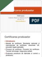 Certificarea Produselor