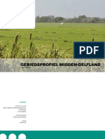 Gebiedsprofiel Midden-Delfland Maart 2012