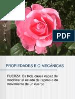 PROPIEDADES BIO-MECÁNICAS
