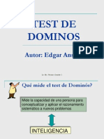 Test de Dominos