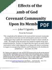 Effects of Lamb of God Community on Members 1992 John Cignatta