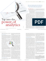 Tap into the power of analytics