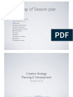 Creative Strategy - Planning & Development
