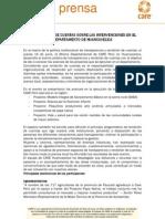 CARE Perú rinde cuentas sobre las intervenciones en el departamento de Huancavelica