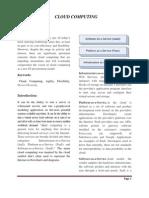 Cloud Computing Documentation