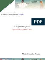 Eventos de Moda en Cuba a Stylist 2011