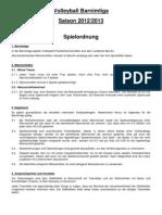 Barnimliga für Freizeitmannschaften 2012-2013