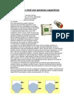 Control de Nivel Con Sensores Capacitivos