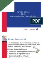 Power Series 9045-EG Spanish