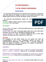Resumao Conteudos - AP de Lingua Portuguesa - Etp 3782010191027